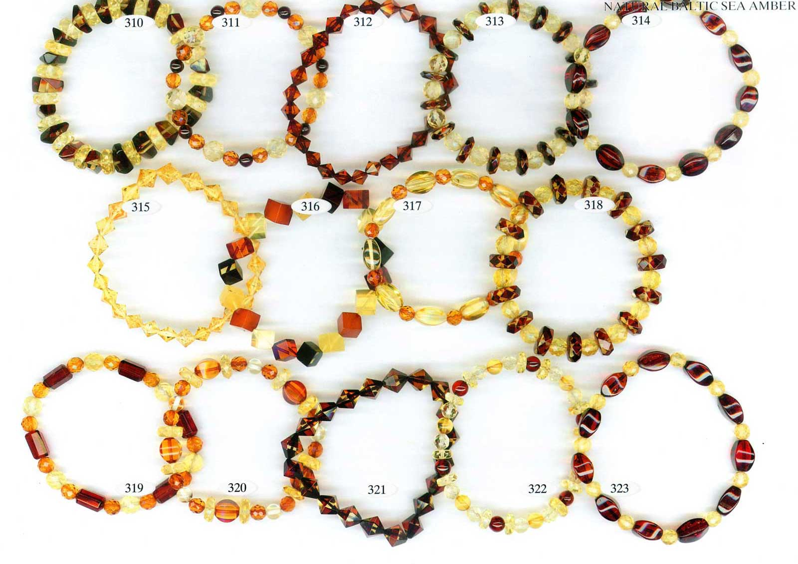 faceted amber bracelets wholesale