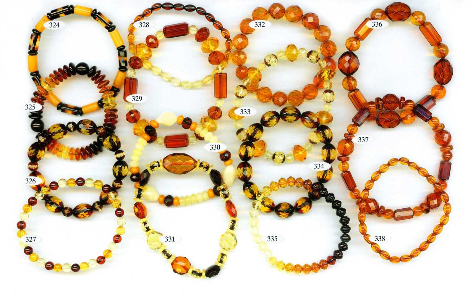multi color amber bracelets wholesale
