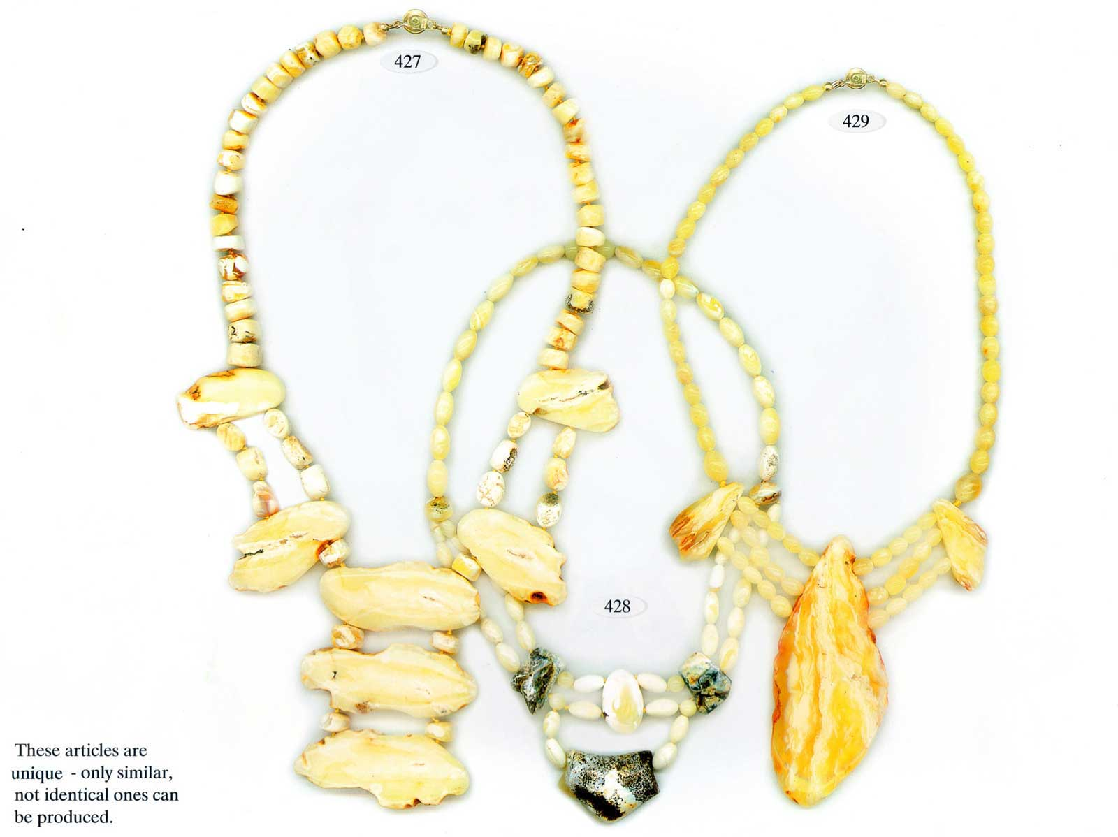 Raw Amber Jewelry