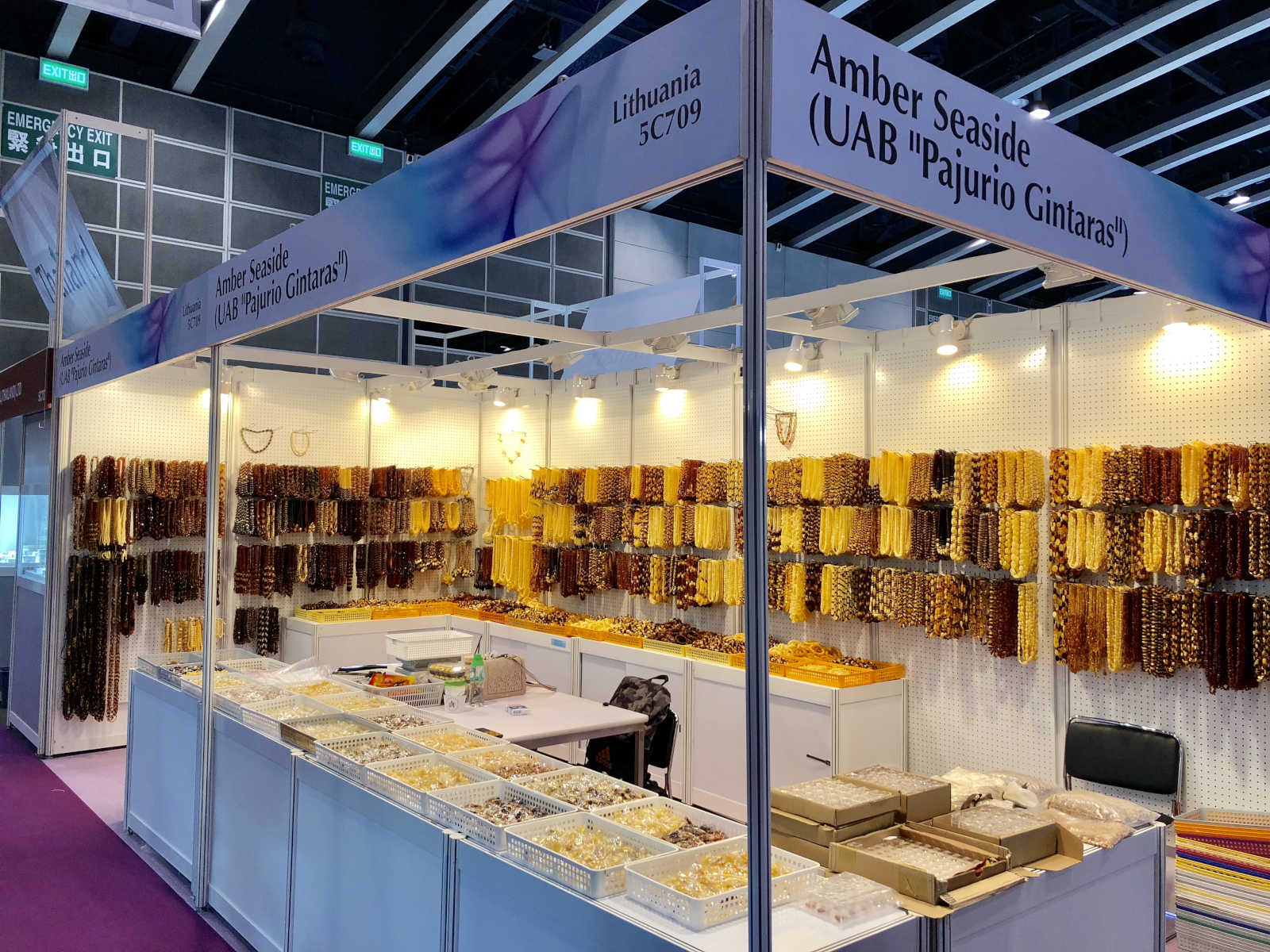 amber seaside wholesale jewelry hong kong exhibition