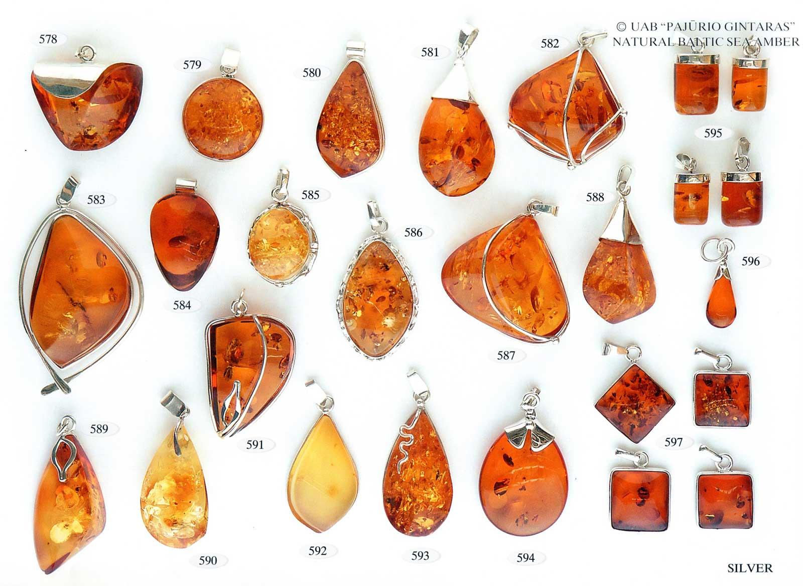 578-597 gold und silber mit bernstein