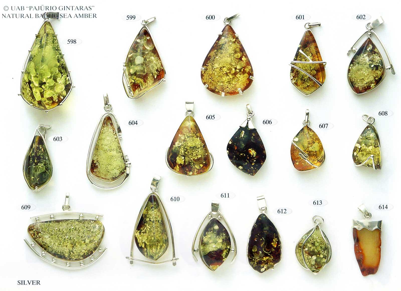 598-614 gold und silber mit bernstein
