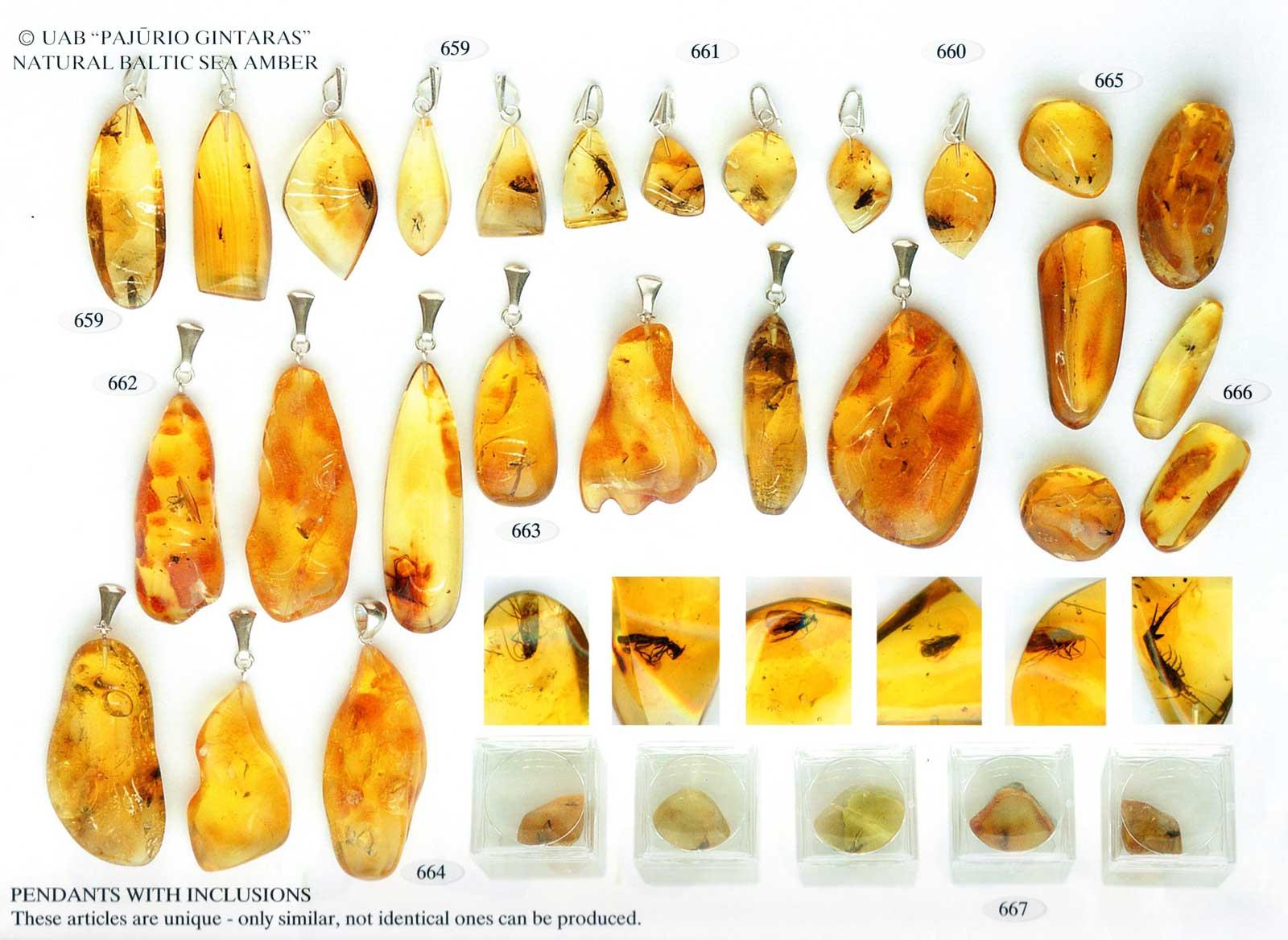 659-667 gold und silber mit bernstein